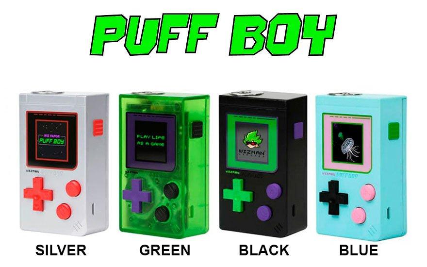 Mod Puff Boy - Wizman