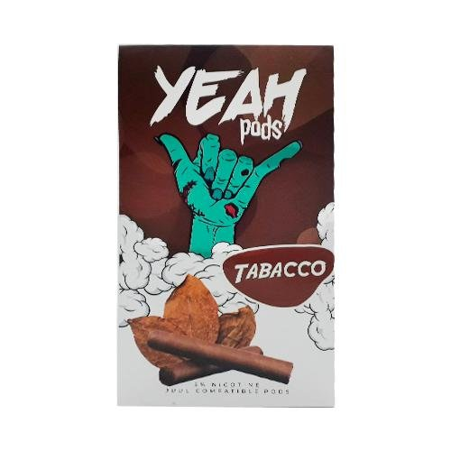 PODs c/ Líquido TABACO - YEAH