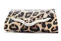 d31952c74 Bolsa Clutch Carteira de Mão Animal Print Onça - E-shoppingcenter