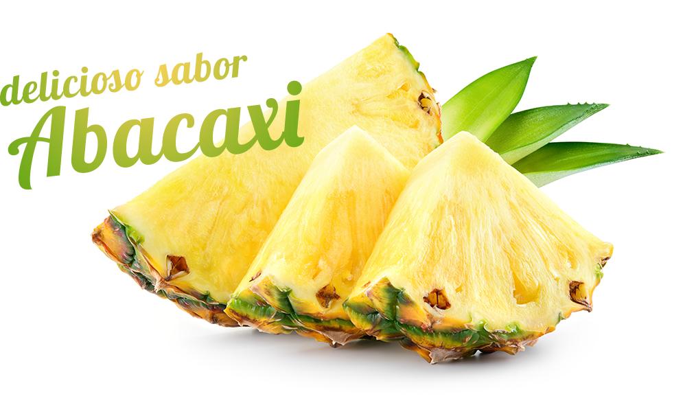 Delicioso sabor abacaxi