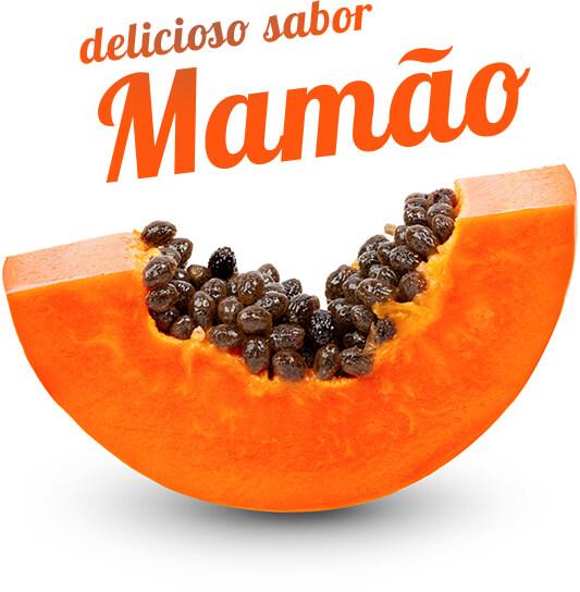 Delicioso sabor mamão
