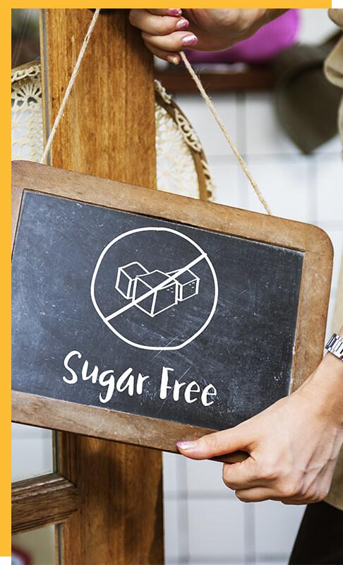 Frutooligossacarideos - sem açúcar.