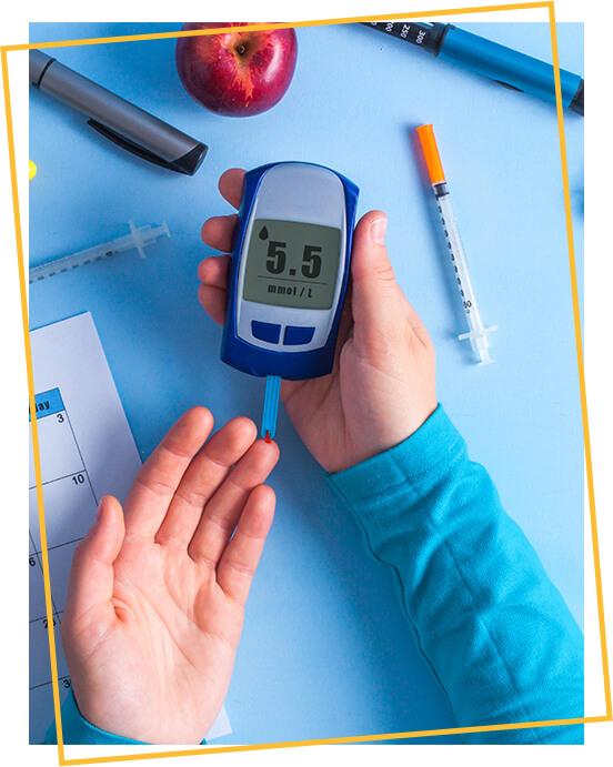 Manitol para controle da glicemia, lipídios e peso corporal para controle da diabetes