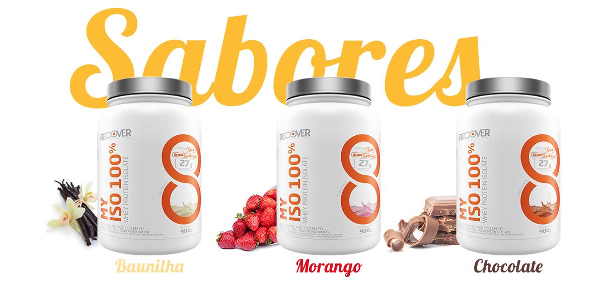 Sabores Baunilha Morango e Chocolate