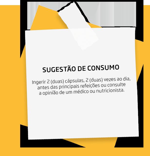 Sugestão de consumo do Linoleic + Coconut