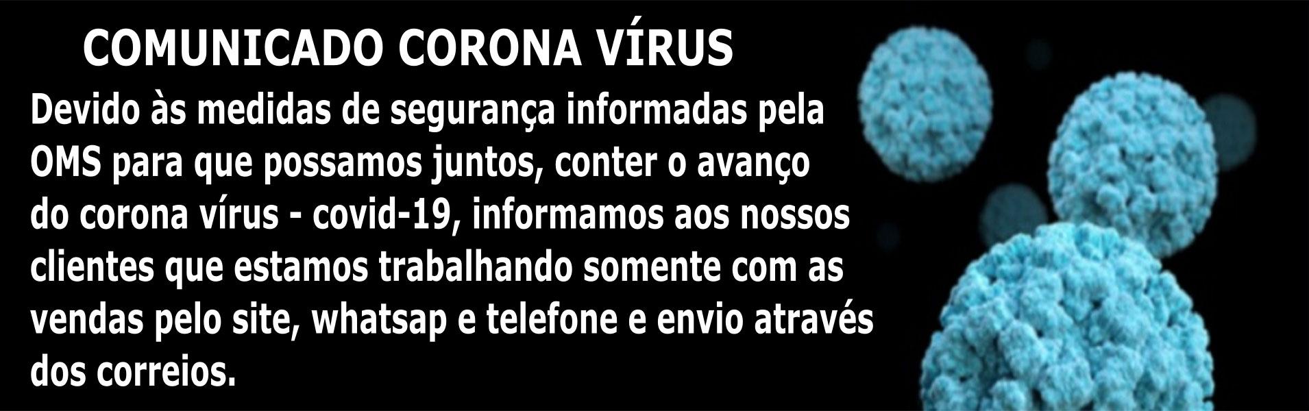 Comunicado Corona Virus