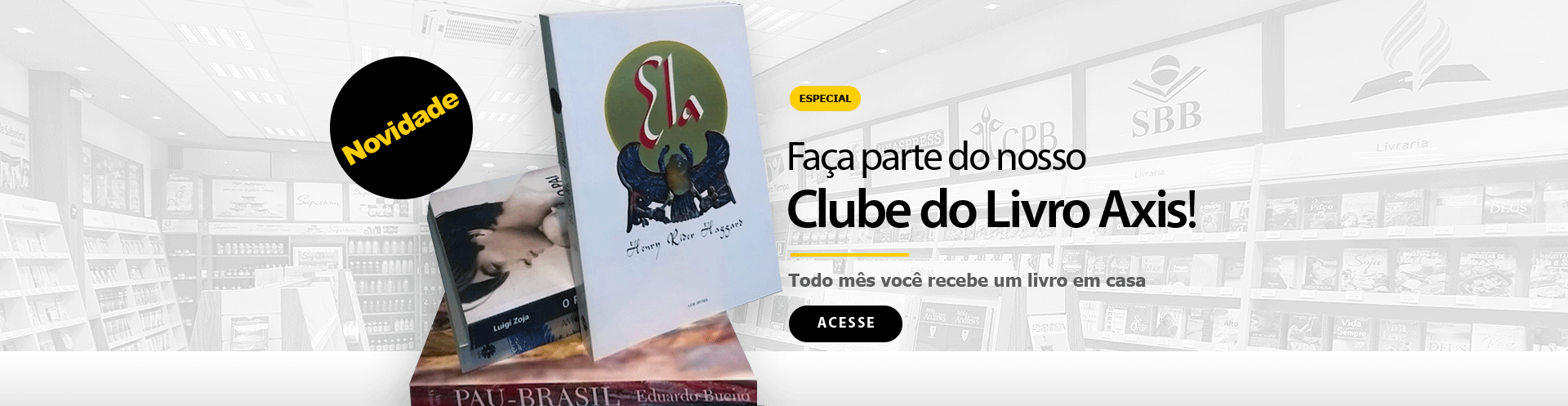 Clube do Livro Axis