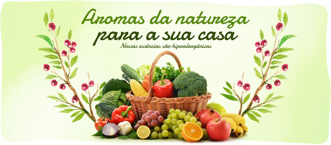Banner Aromas Natureza