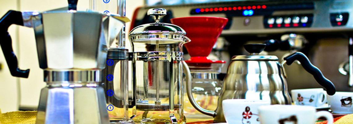 Cafeteiras e Chaleiras