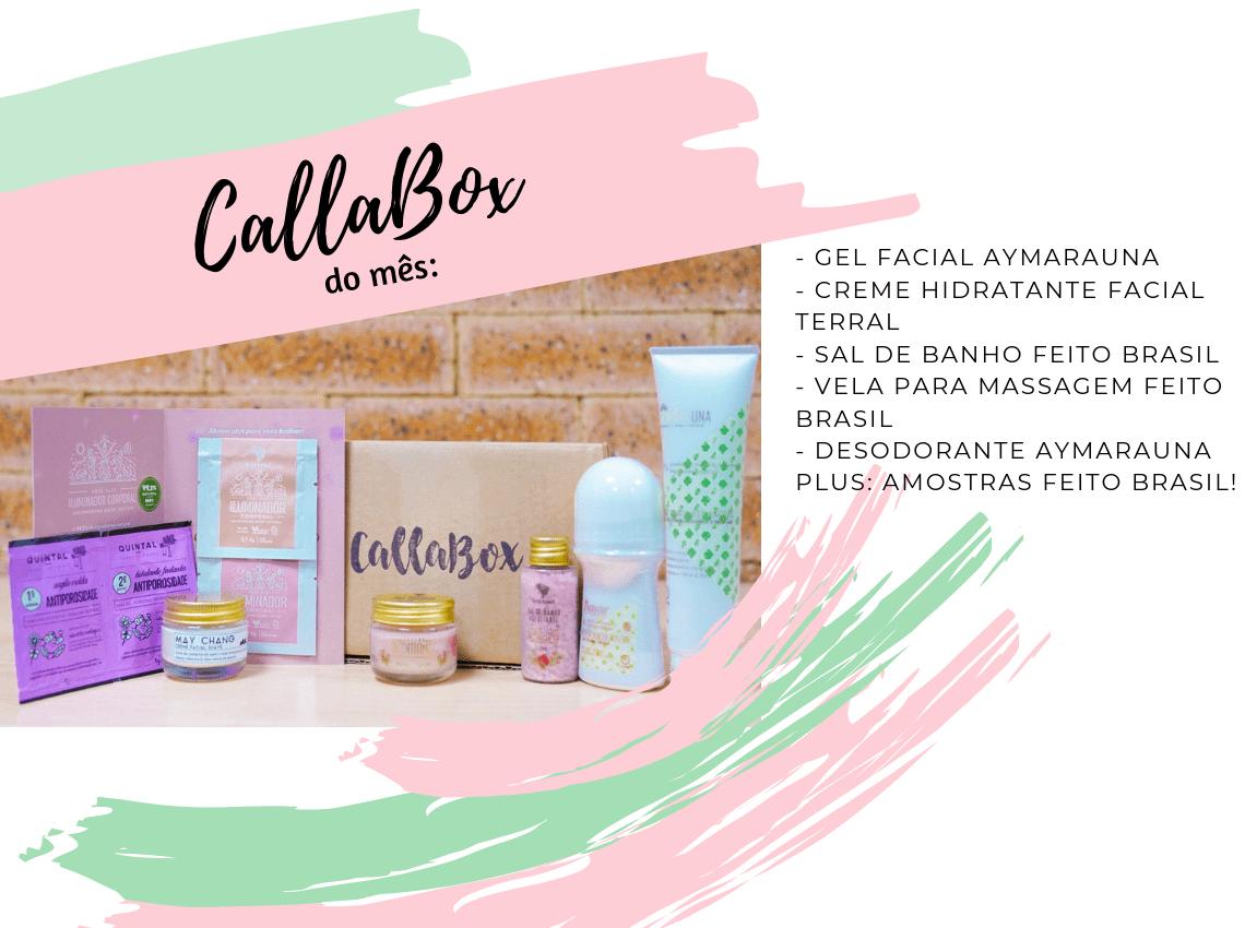 CallaBox do mês