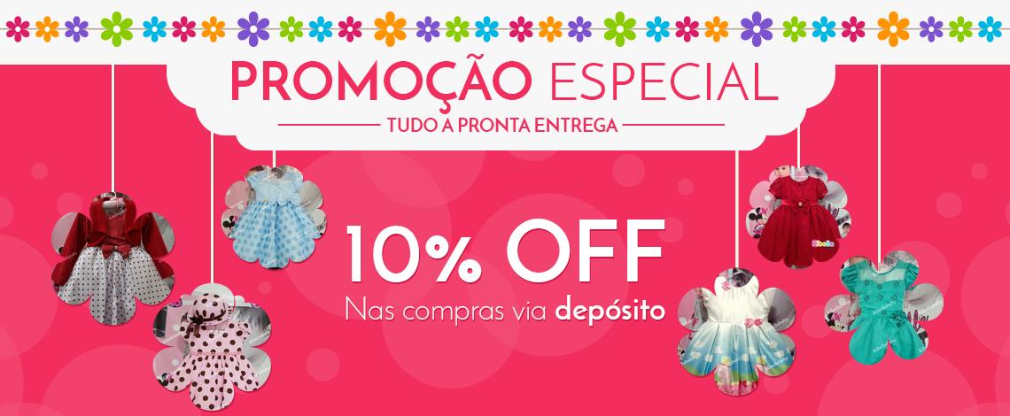 Promoção 10% de Desconto