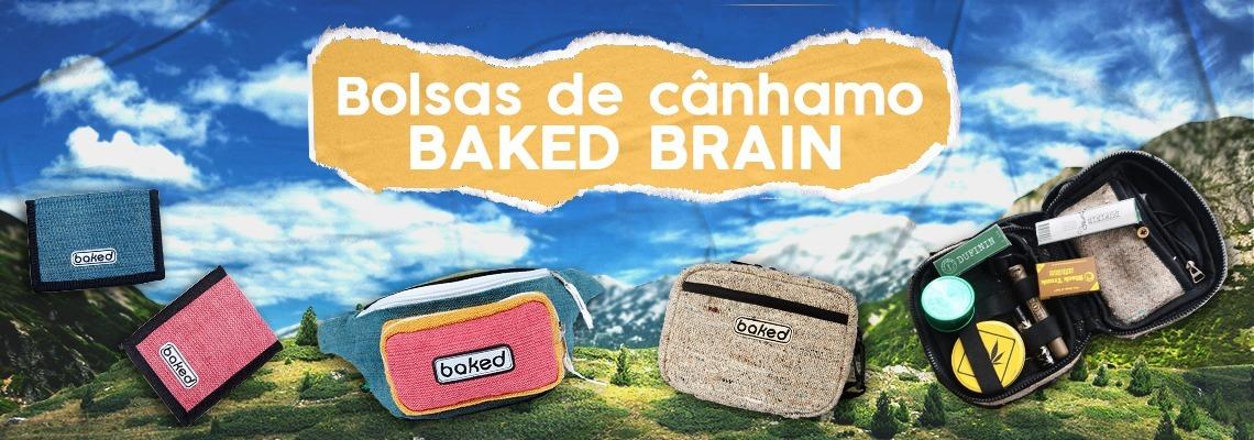Bolsas de Cânhamo Baked Brain