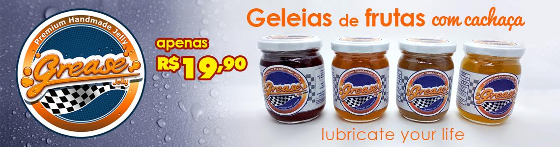 GELEIAS COM CACHAÇA