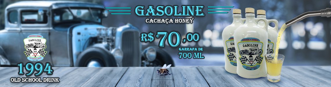 Gasoline cachaça Honey