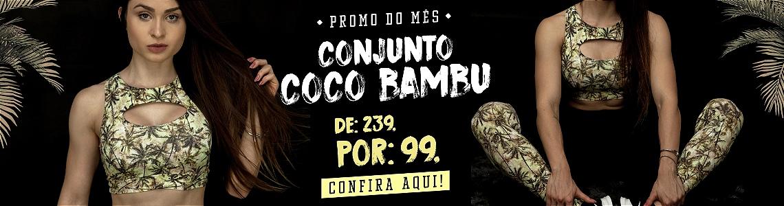Conjunto Coco Bambu