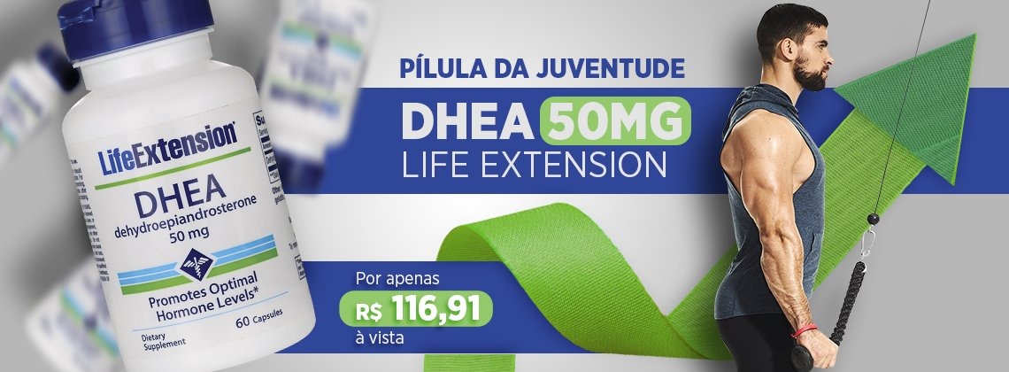 Dhea 50mg - Life Extension