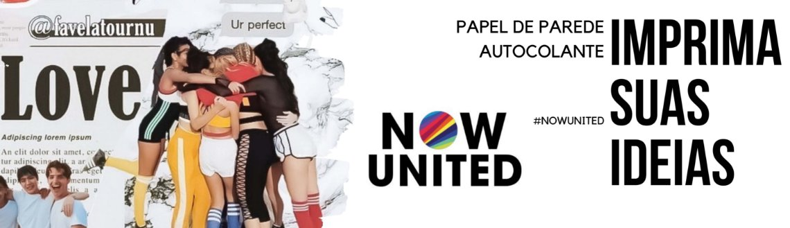 Papel de Parede Auto Colante Now United