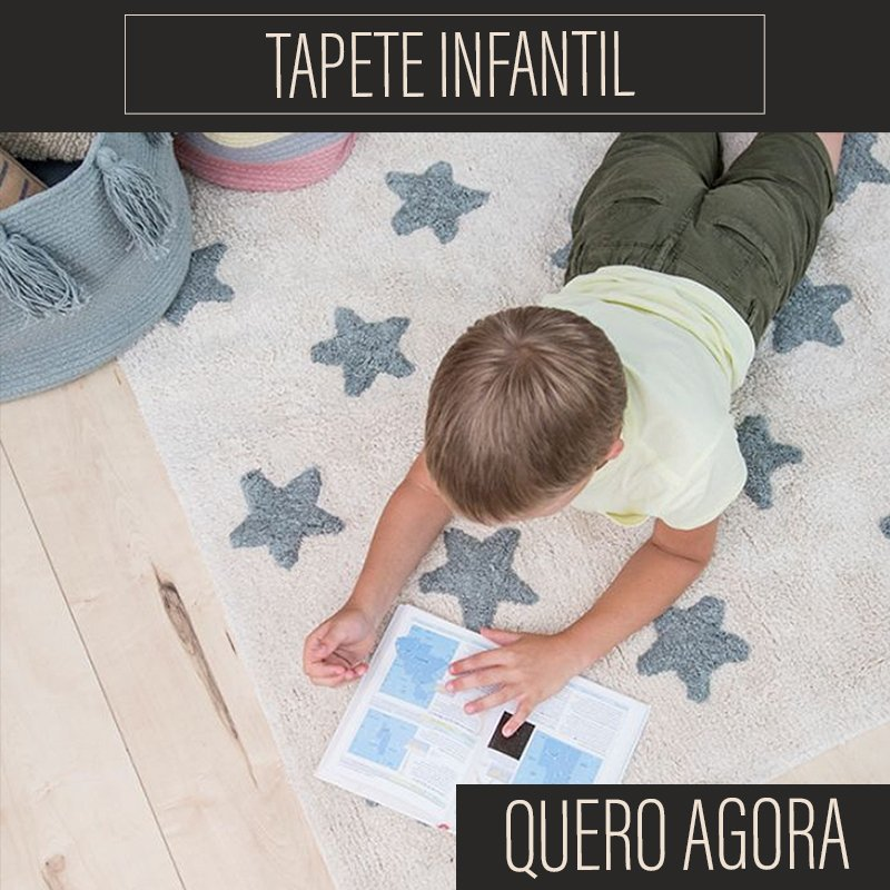 Tapete Infantil - Mobile