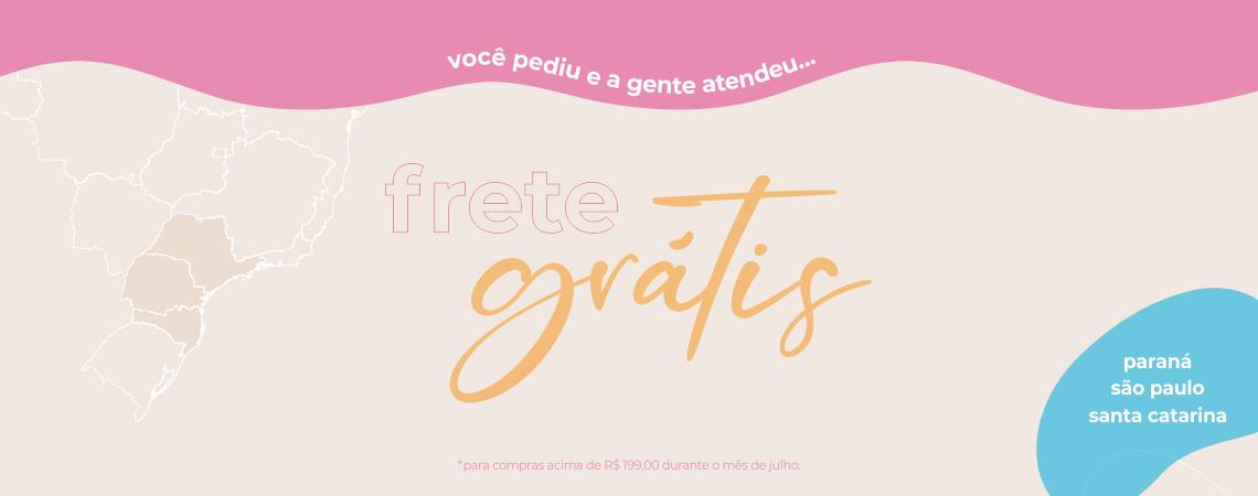 Frete Grátis PR, SP, SC