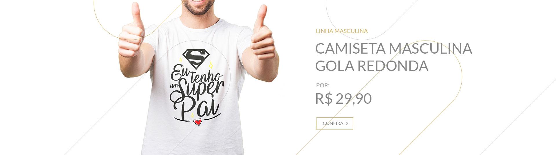 Banner Camsieta Masculina