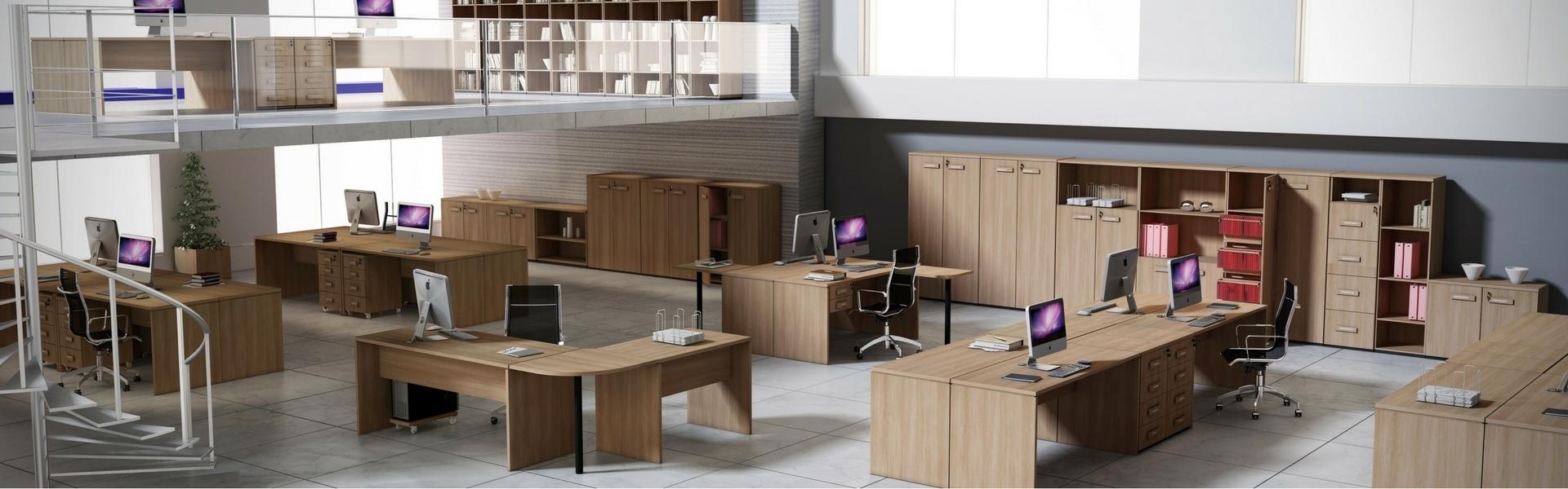 Mesas e armários