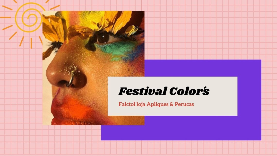 carnaval 2021 festa cabelo colorido
