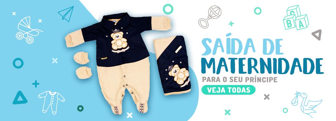 Banner Saída Maternidade Masculino