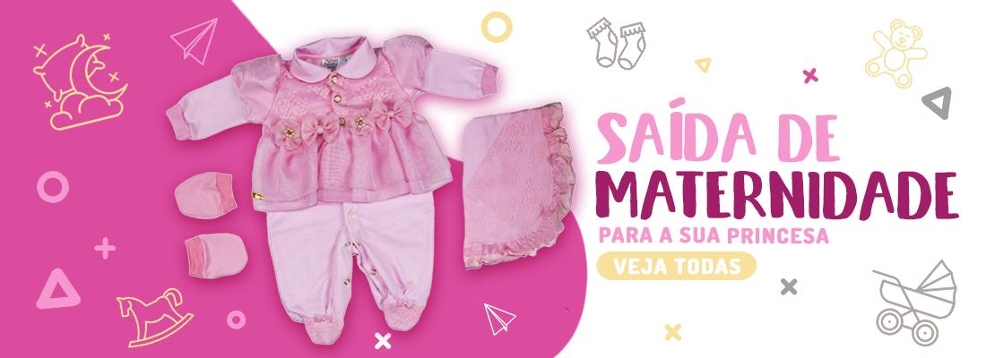 Banner Saída Maternidade Feminino