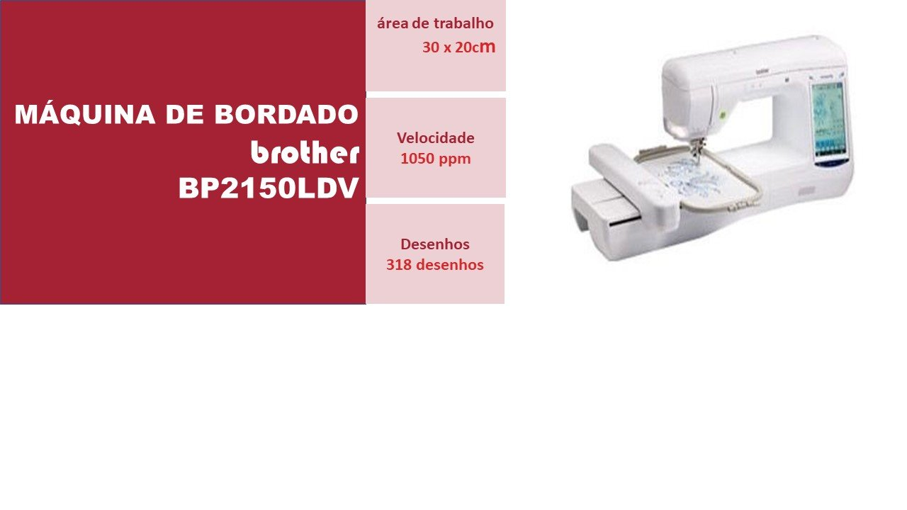 Maquina de Bordado BP2150LDV