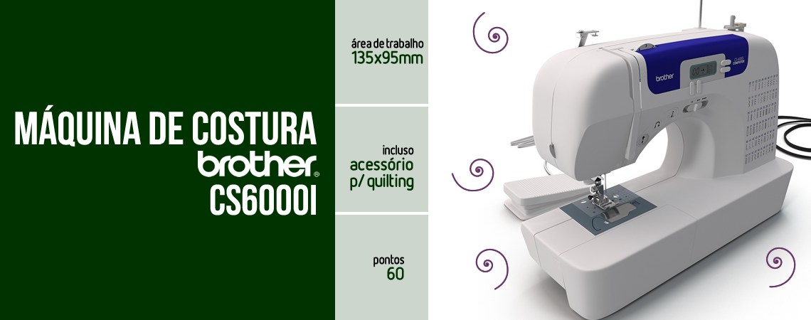 Maquina Costura Brother CS6000i