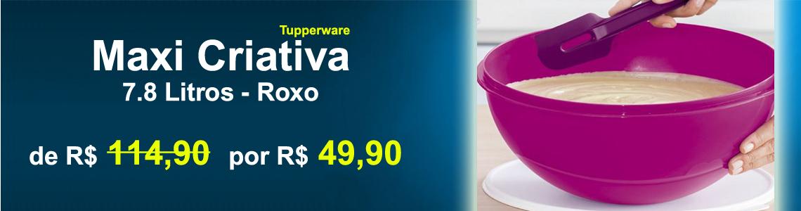 03 - MAXI CRIATIVA 7.8L ROXA - BLACK FRIDAY