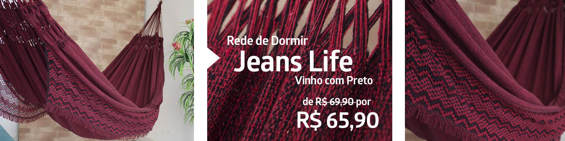 Jeans Life Vinho