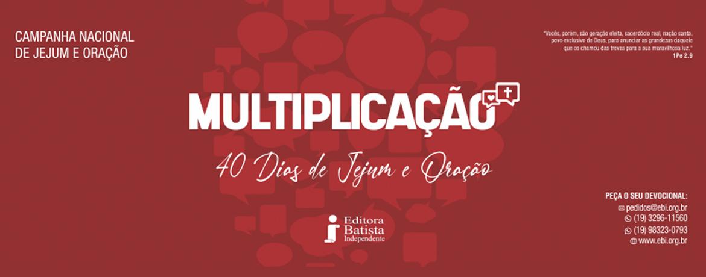 Banner Multiplicação
