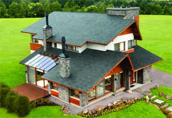 Telhado Shingle Dove Gray