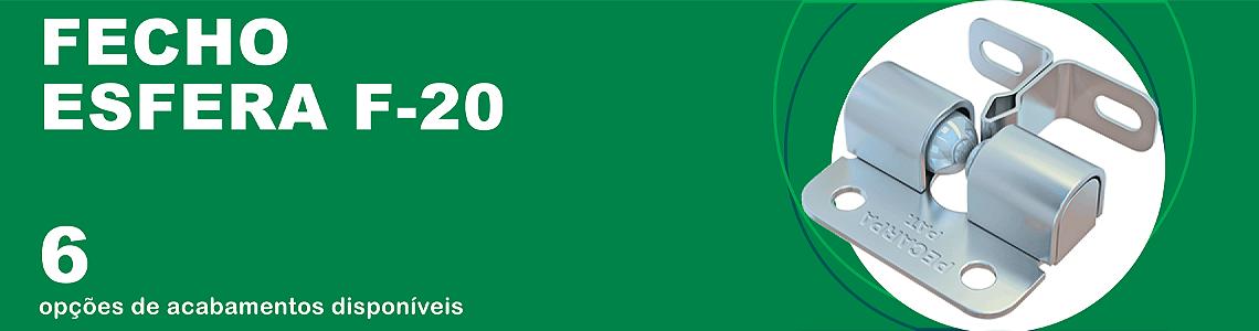 Banner Fecho Esfera F 20