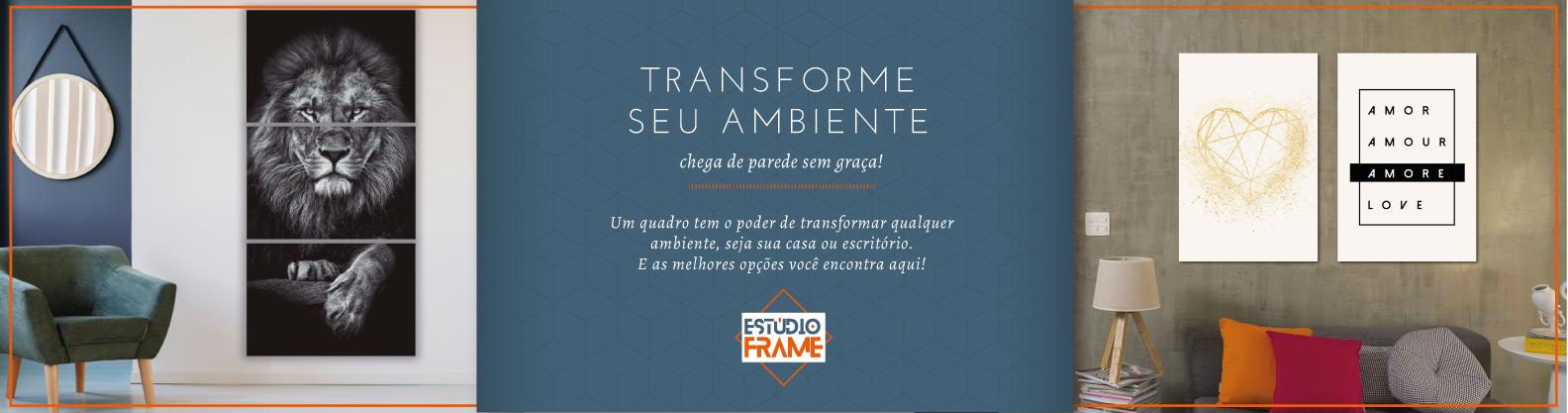 Transforme seu ambiente