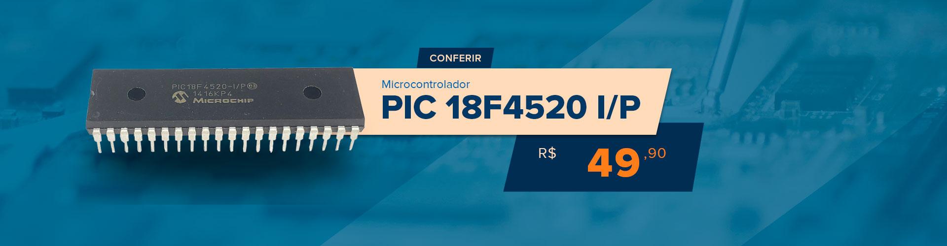 PIC 18F4520 I/P