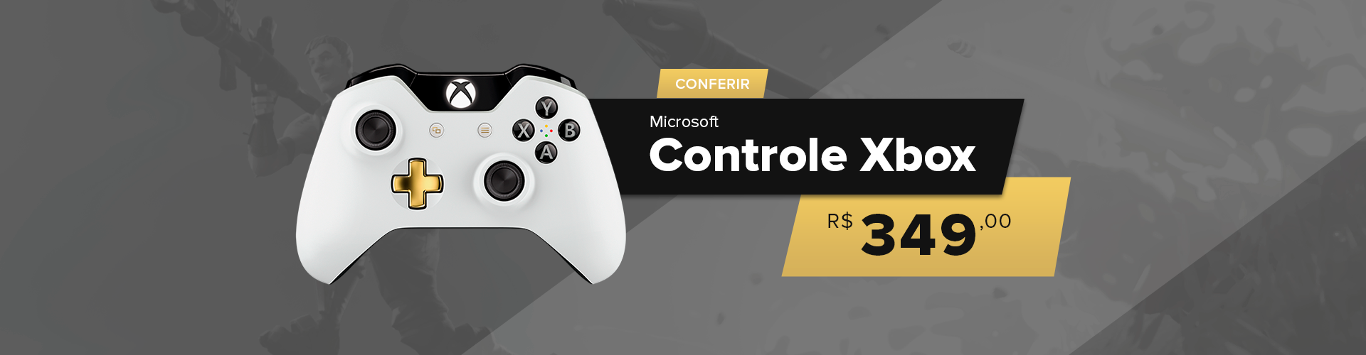 Banner Controle Xbox One