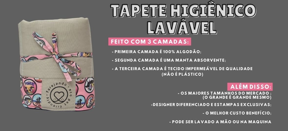 tapete higiênico Lavavel