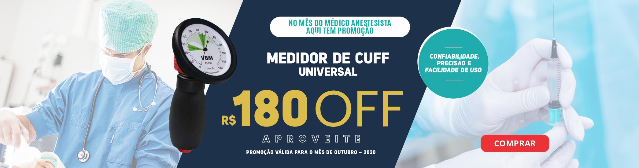 Promoção Medidor de Cuff