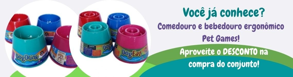 Kit Dog Drink e Dog Eat