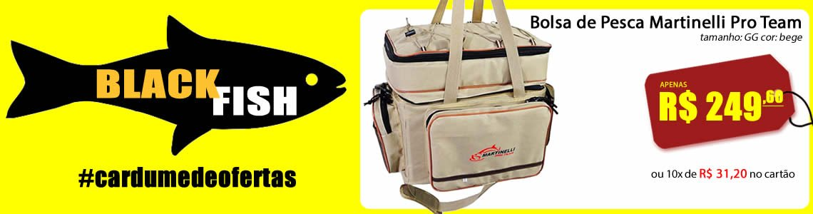 Full Black Fish Bolsa GG