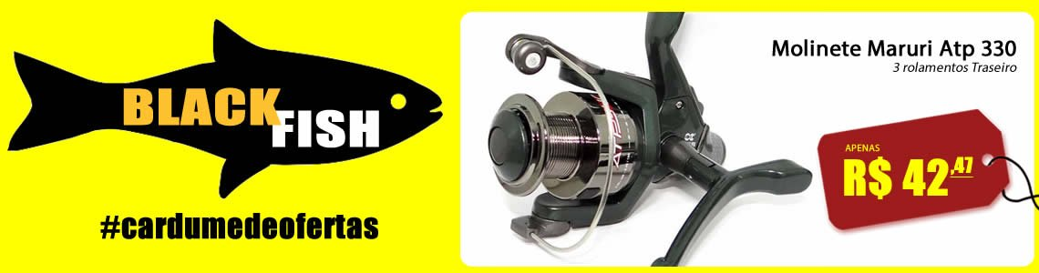Full Black Fish Molinete ATP