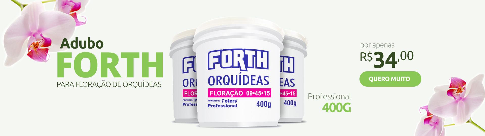 ADUBO FORTH ORQUÍDEAS