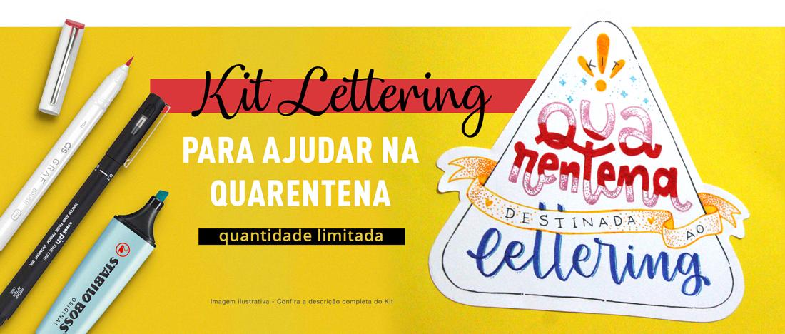 Kit de Lettering para Quarentena