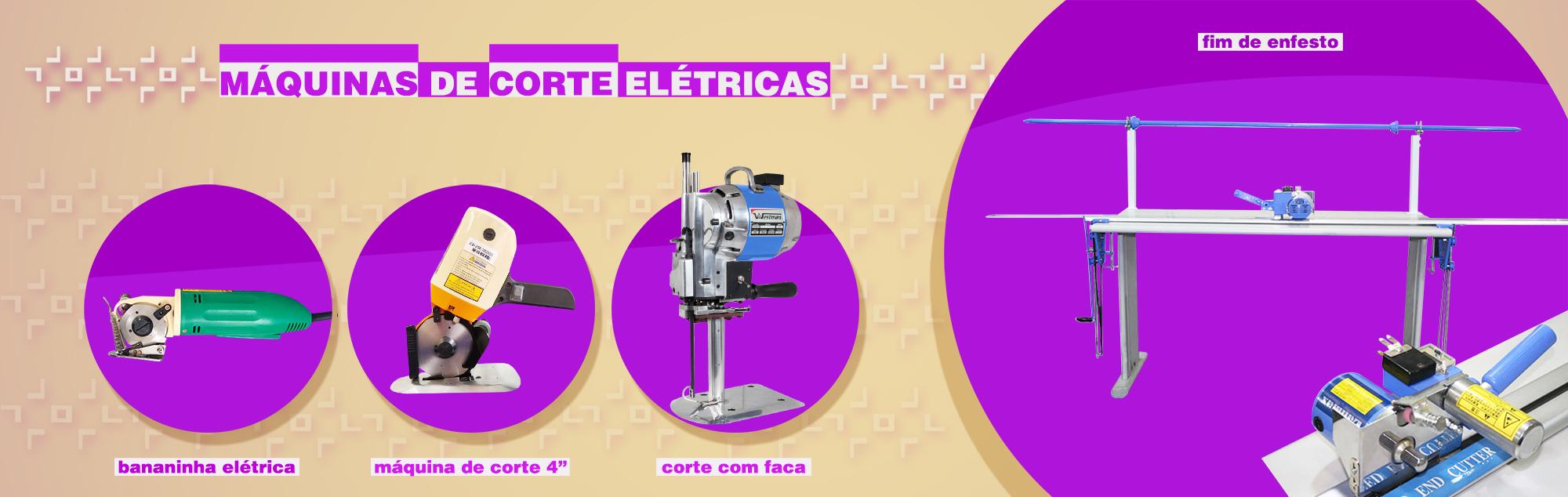Banner Máquinas de Corte Elétricas