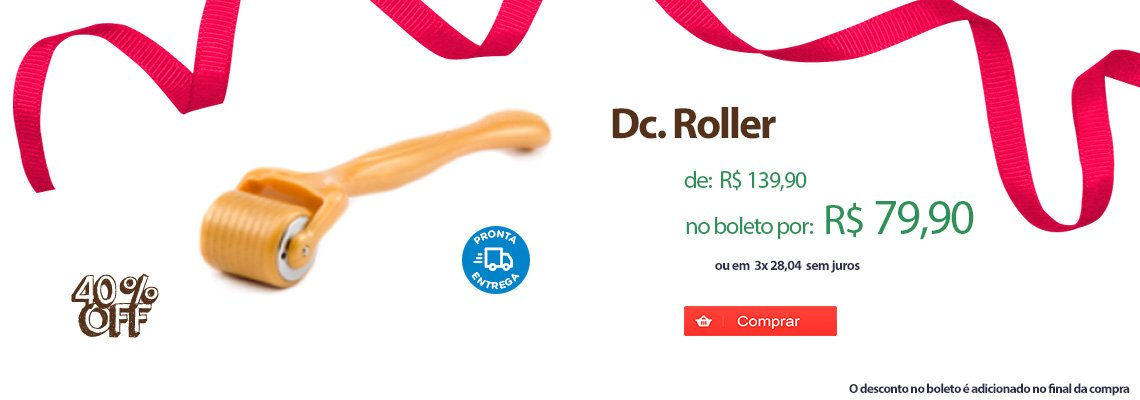 DC. Roller - Dermaroller - Vários Tamanhos