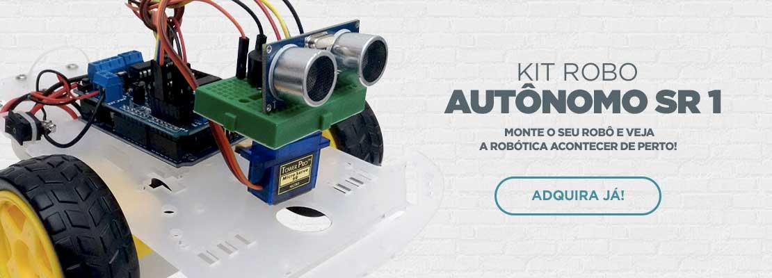 Kit Robô Autônomo SR 1