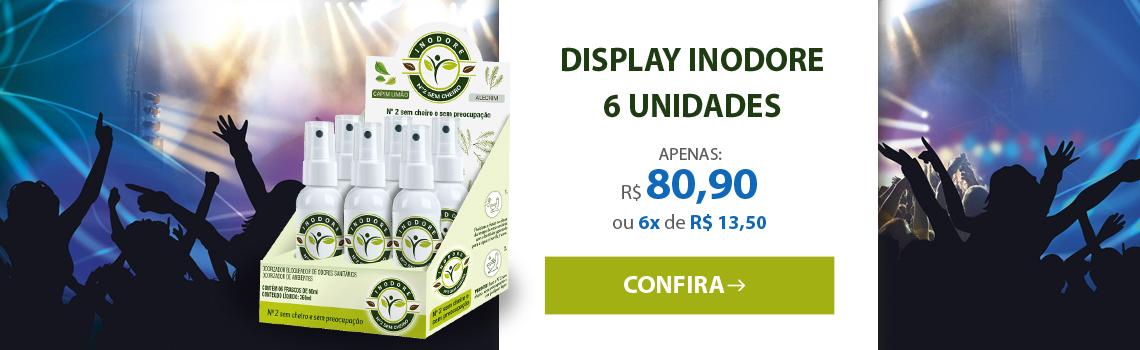 Display Inodore com 6 unidades