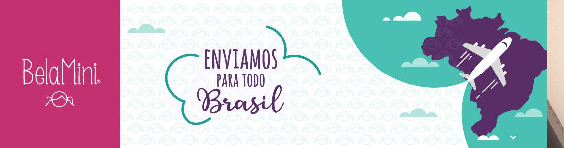 Enviamos para Todo Brasil -